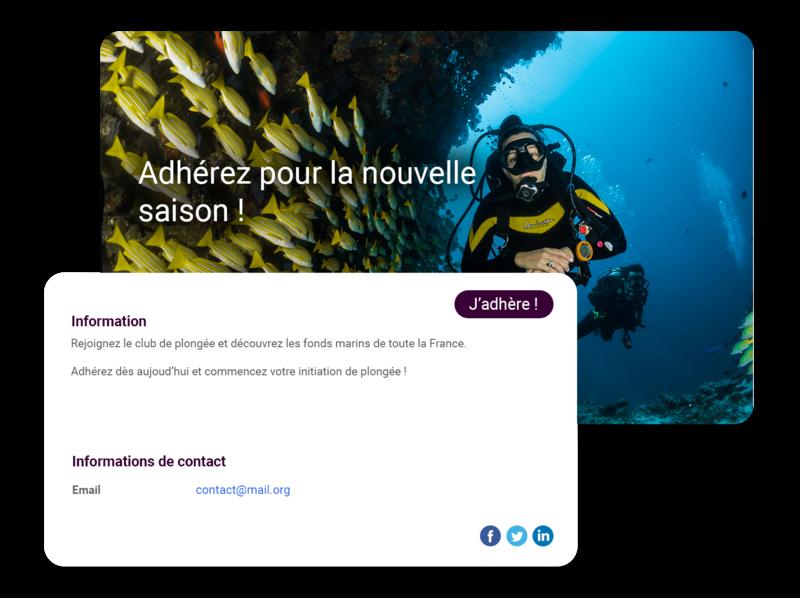 logiciel sports sous marins