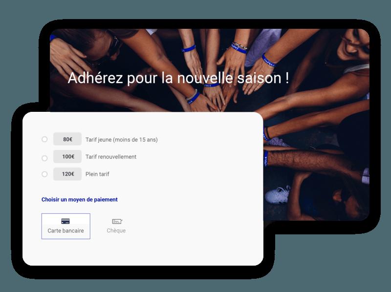 Une Solution de Paiement en Ligne et Tout-en-Un pour votre association