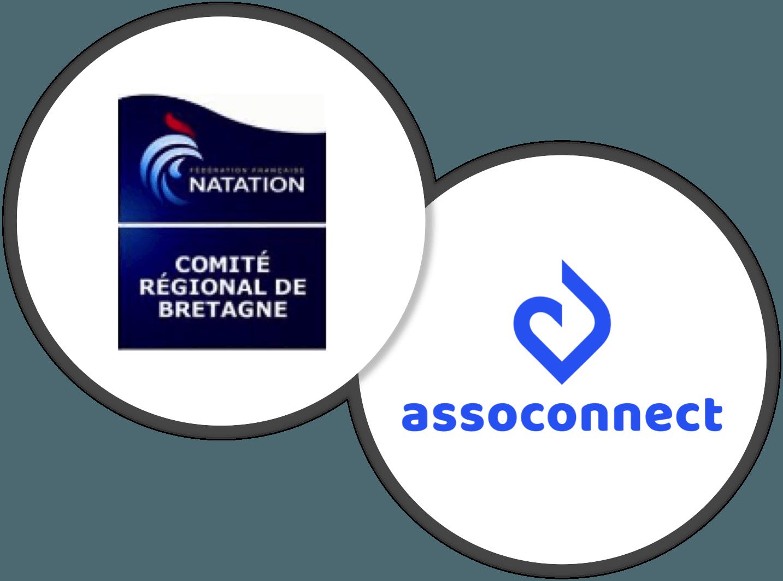 AssoConnect Comité Régional de Natation de Bretagne