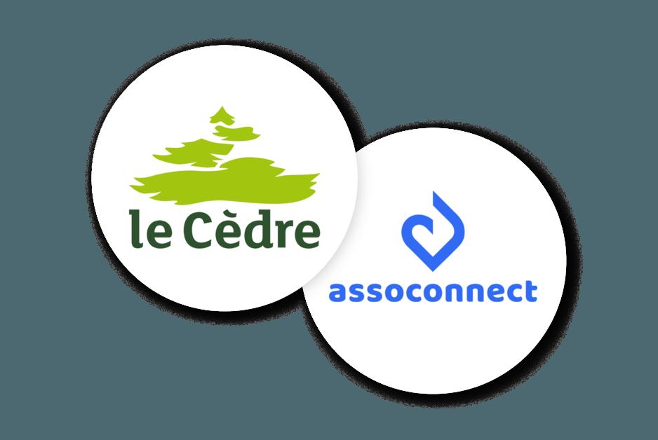 Partenariat AssoConnect et le Cèdre