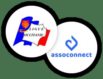 AssoConnect gratuit Ligue d'Occitanie des clubs de la Défense