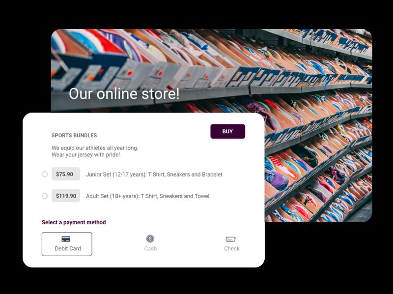 Nonprofit Online Store