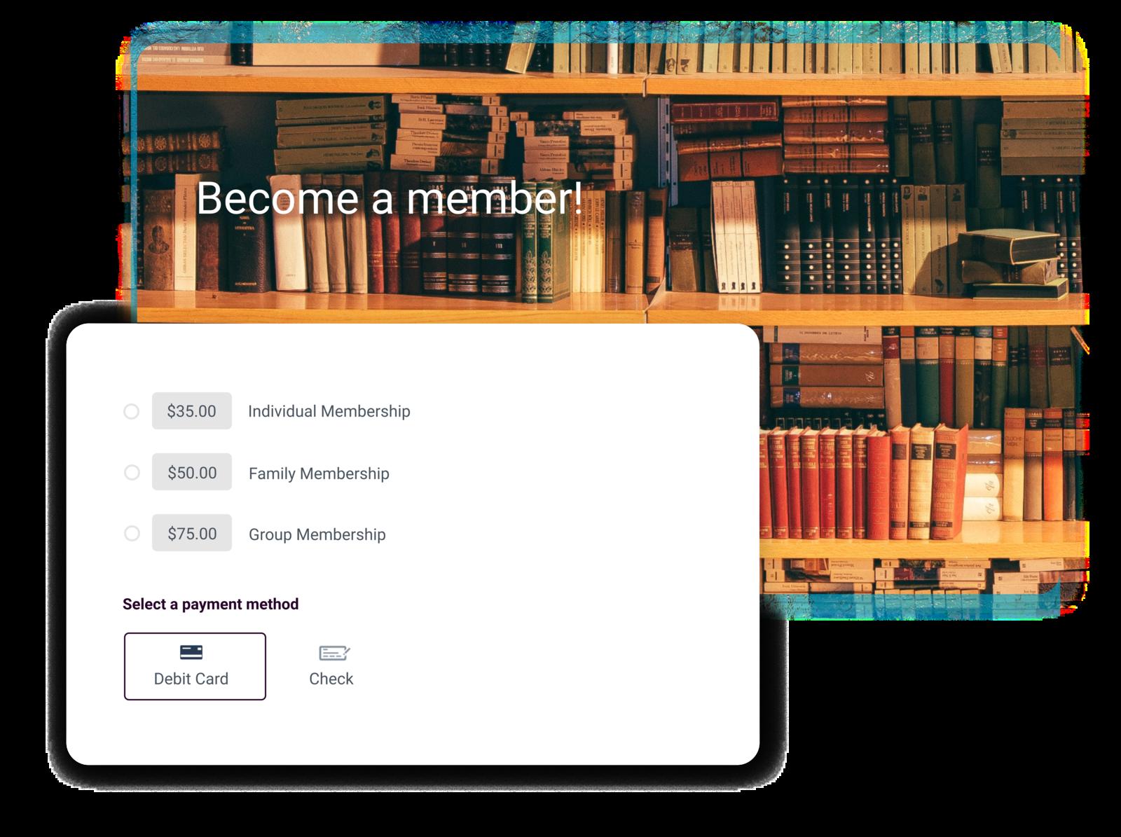 book club management software summary