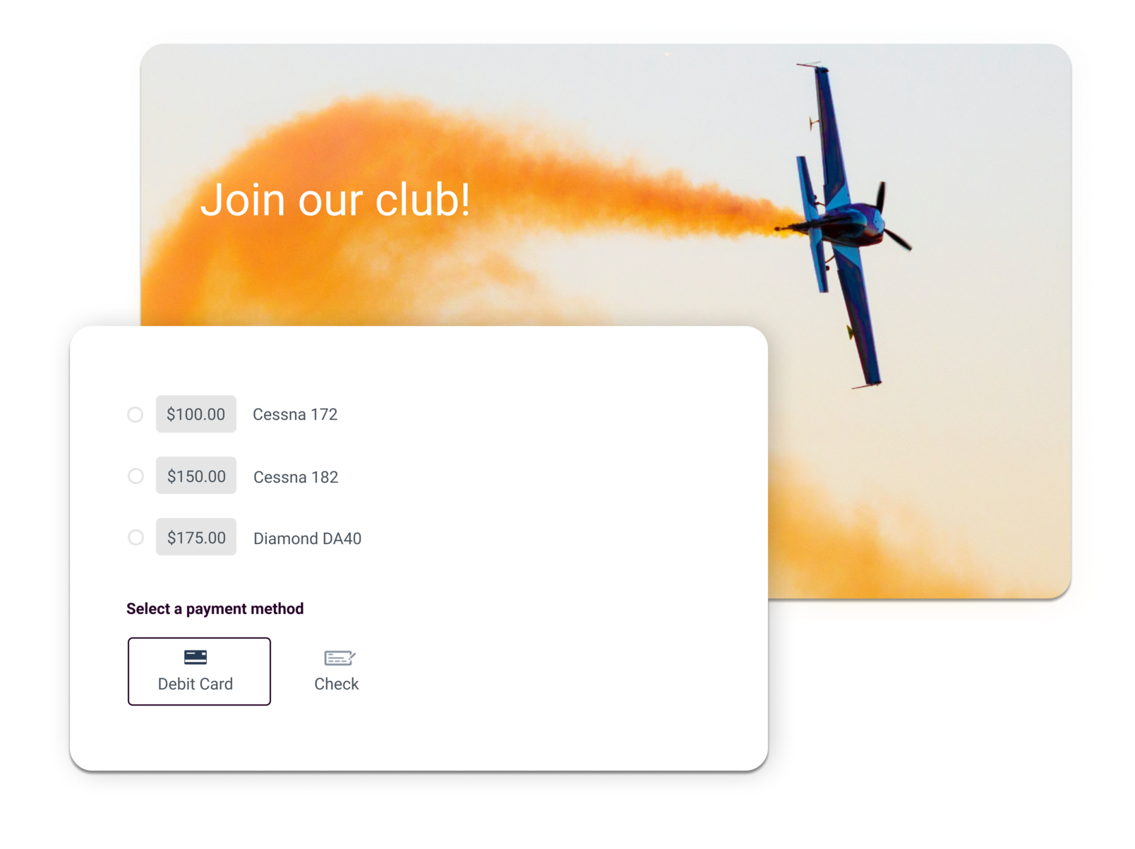 flying club management software summary