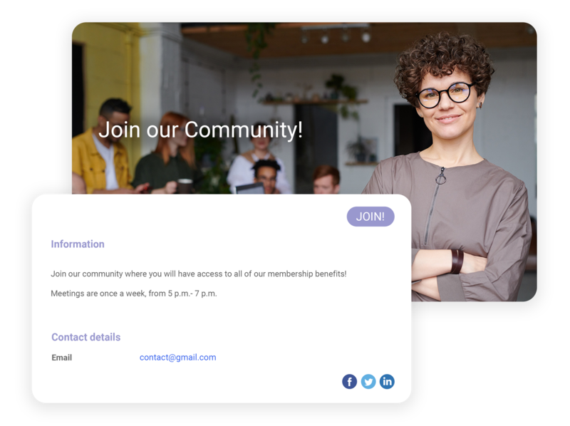 free membership software campaign