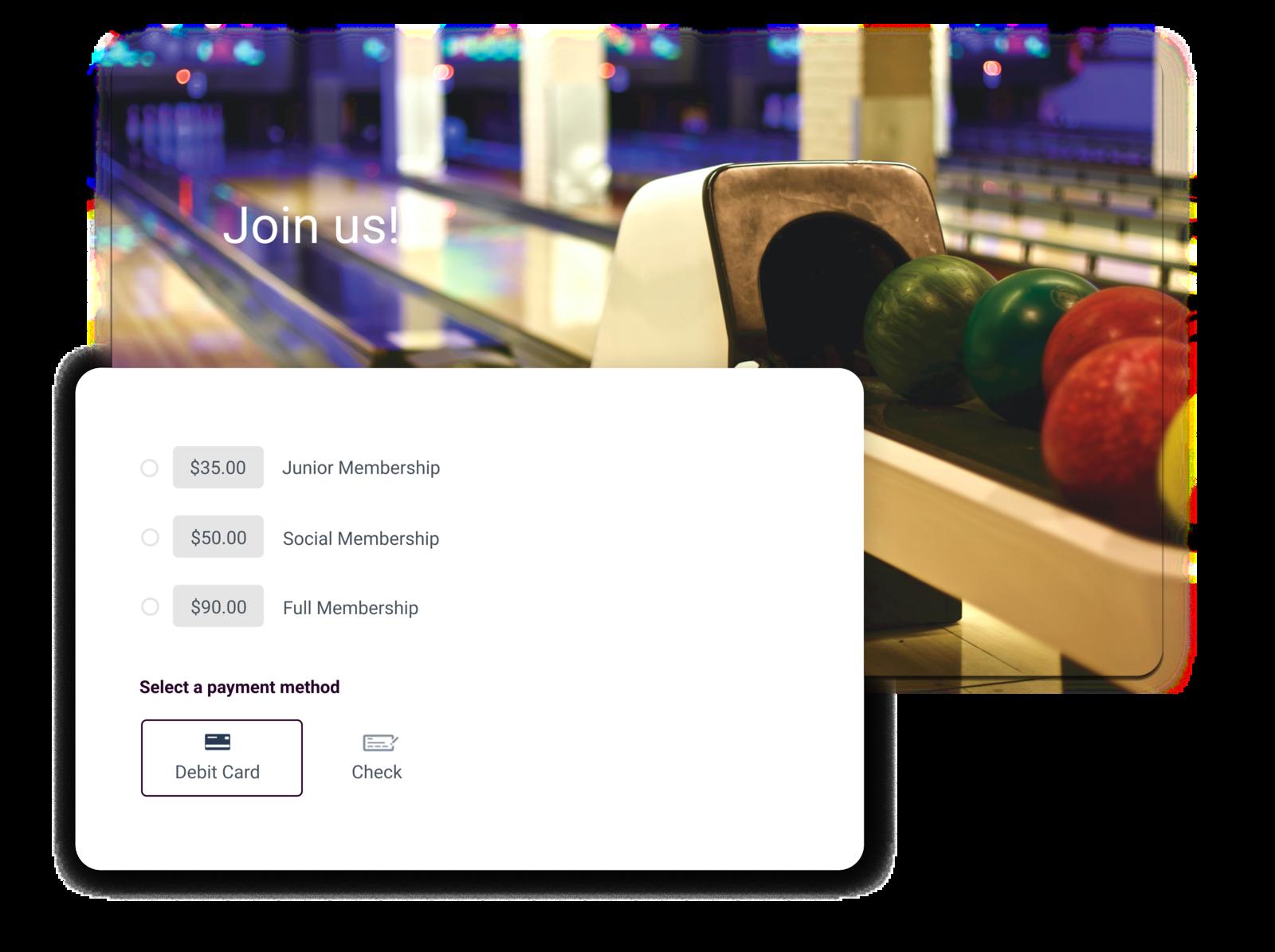 bowling club management software summary