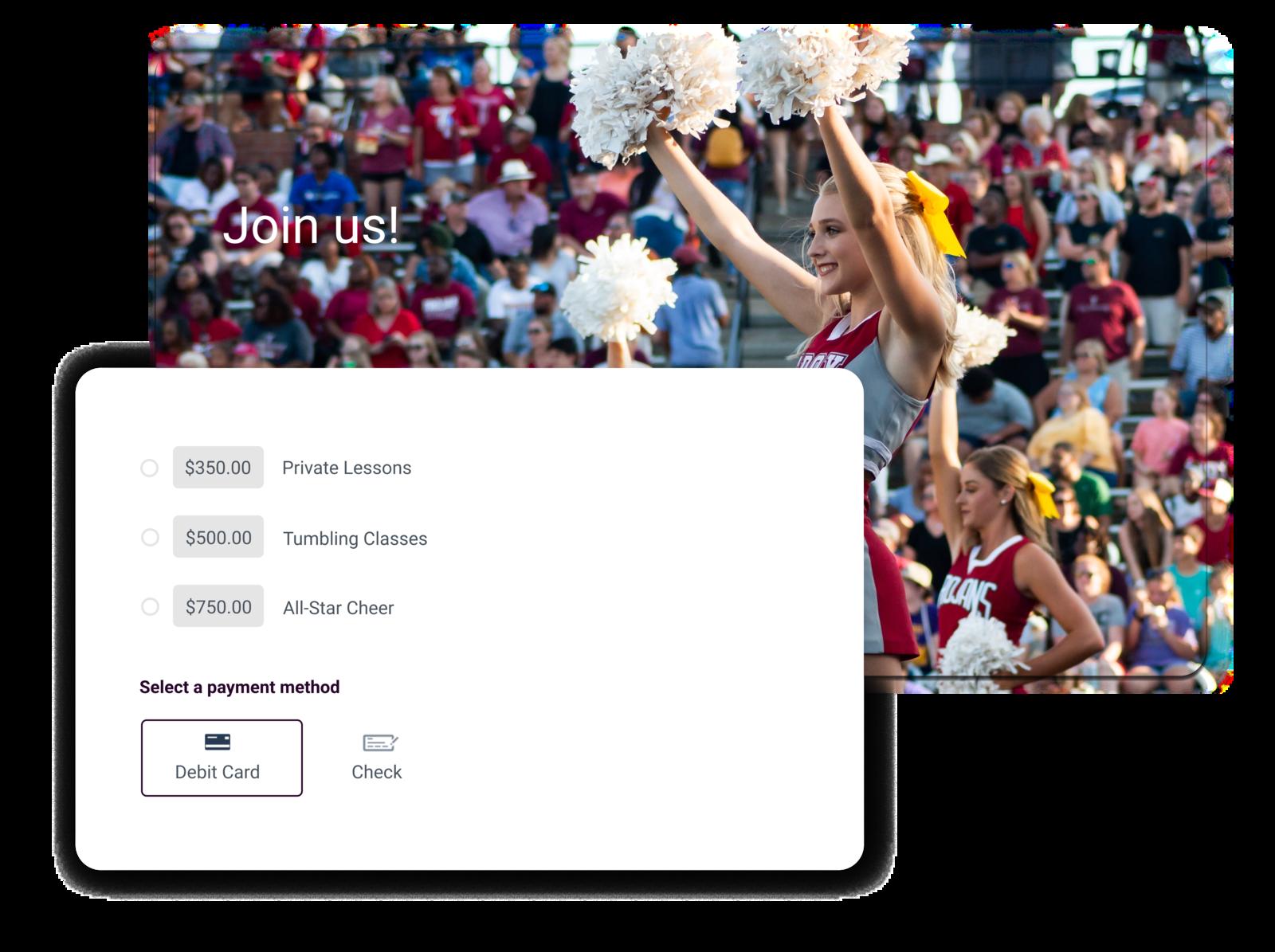 cheerleading management software summary