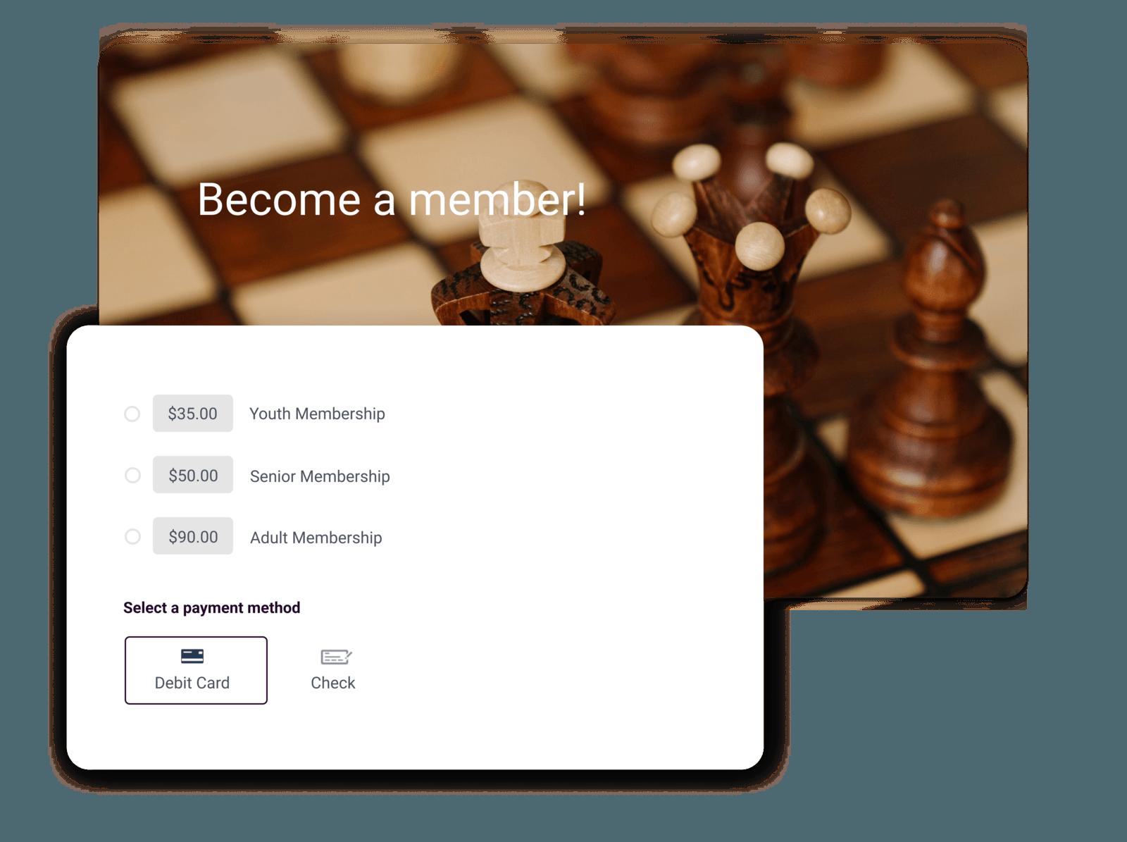 chess club software summary