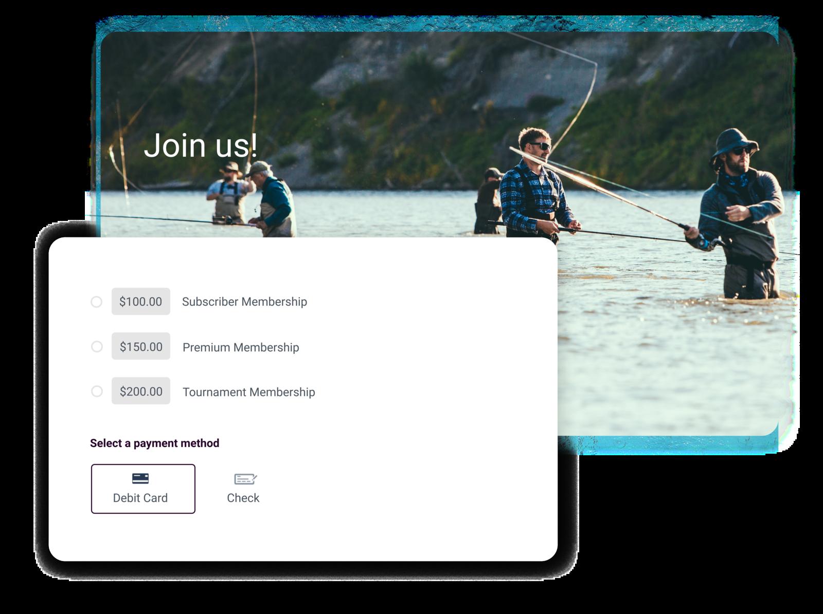 fishing club management software summary