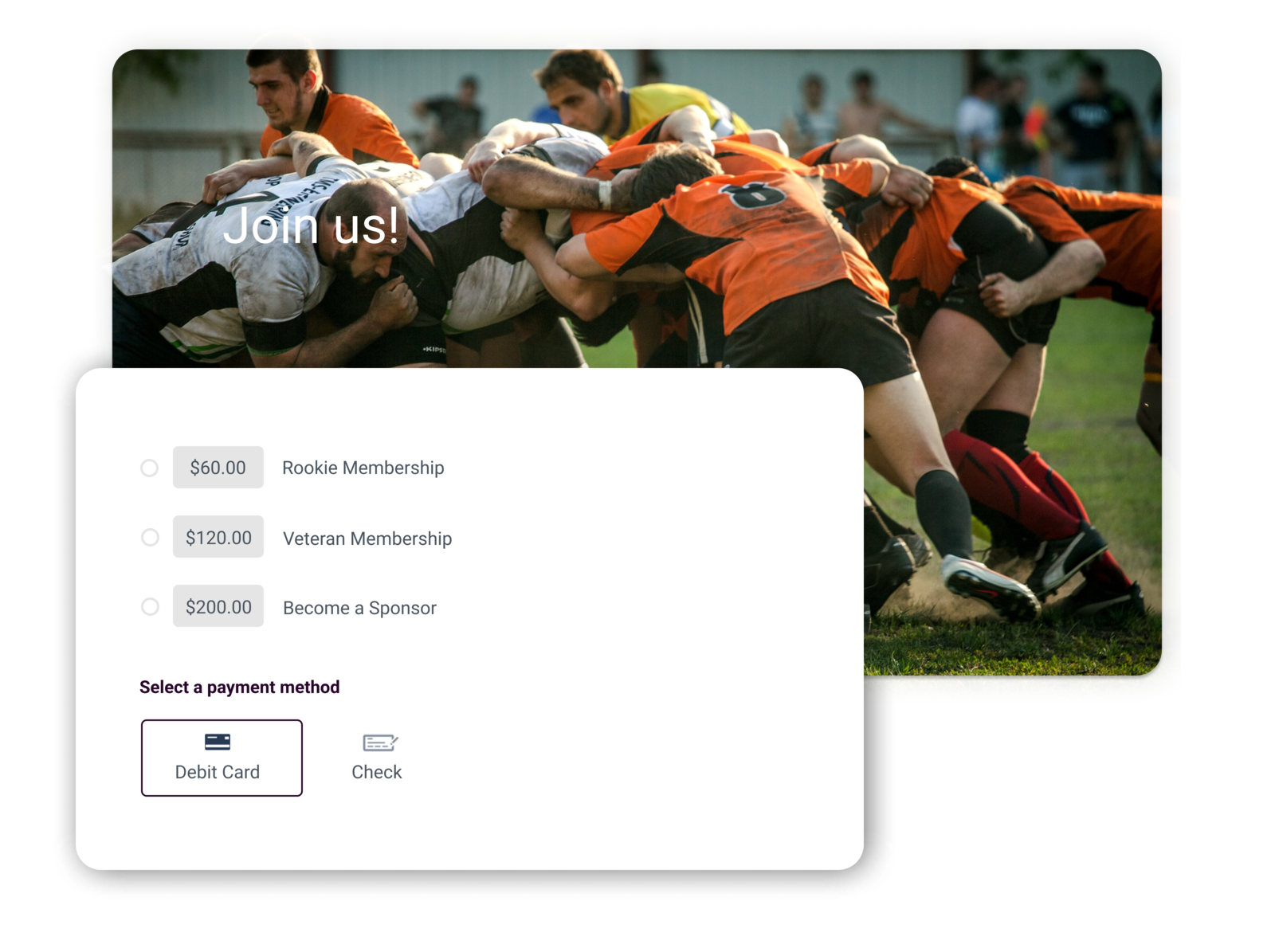 rugby club management software summary