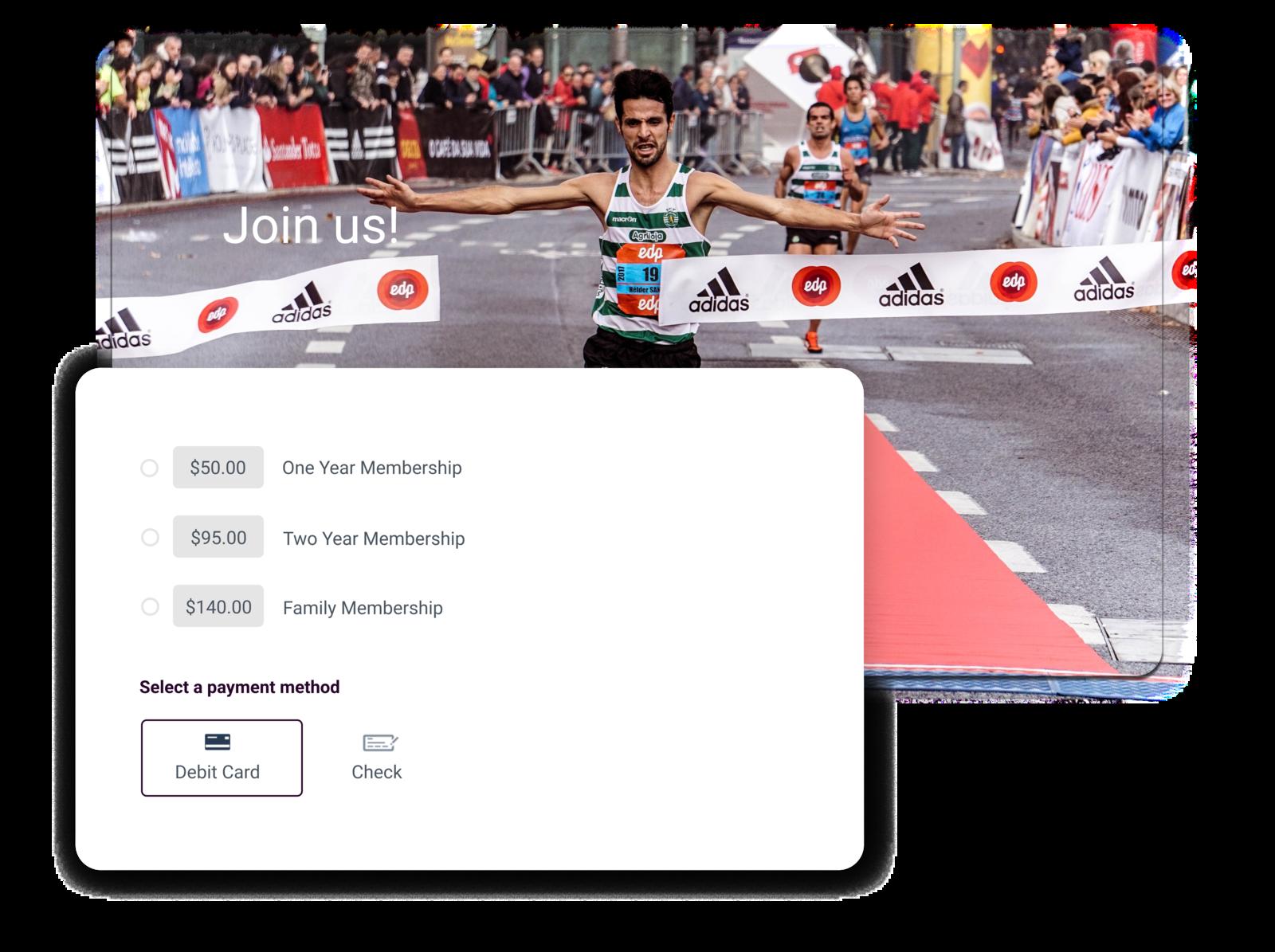running club software summary