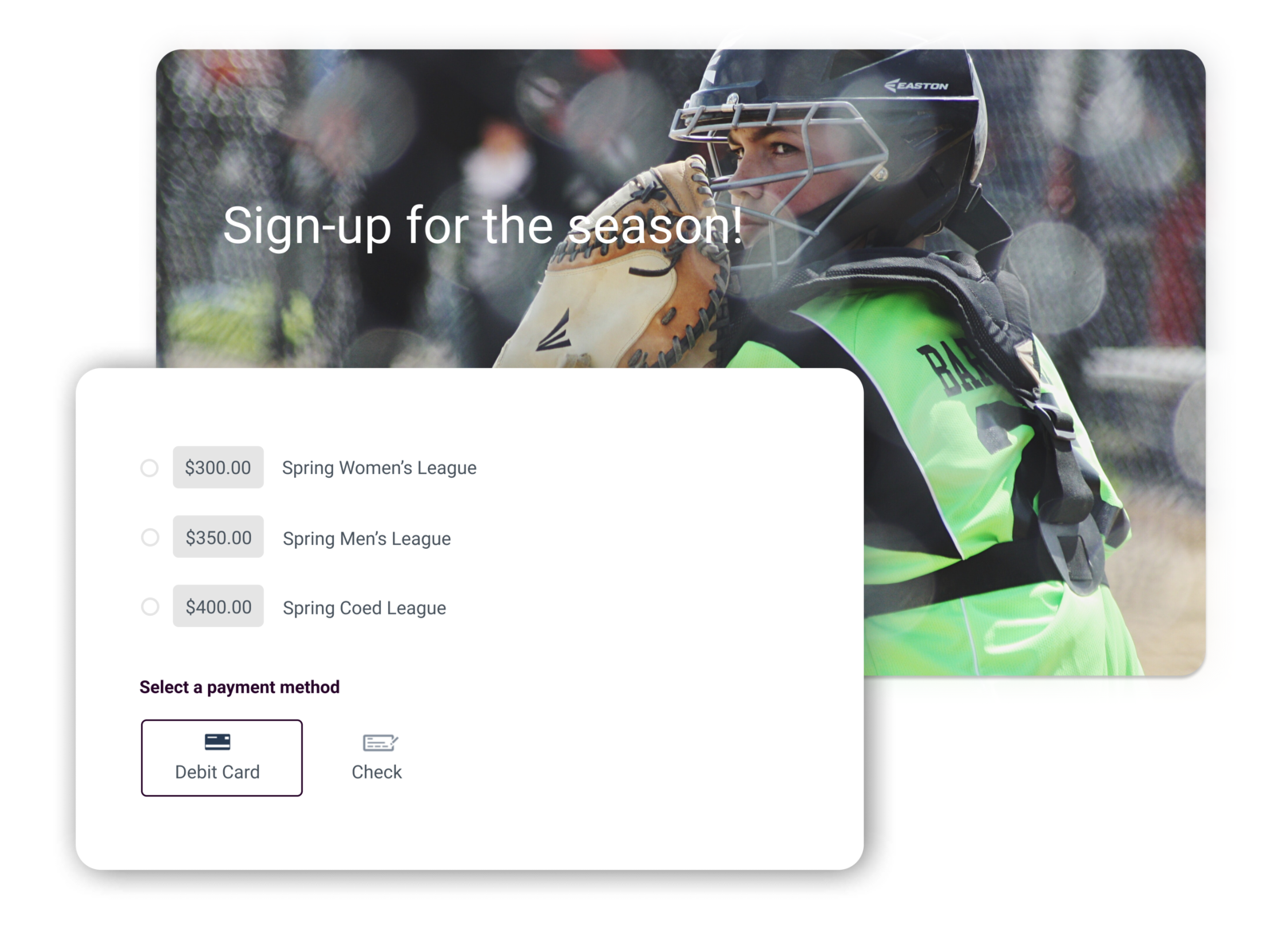 softball league software summary