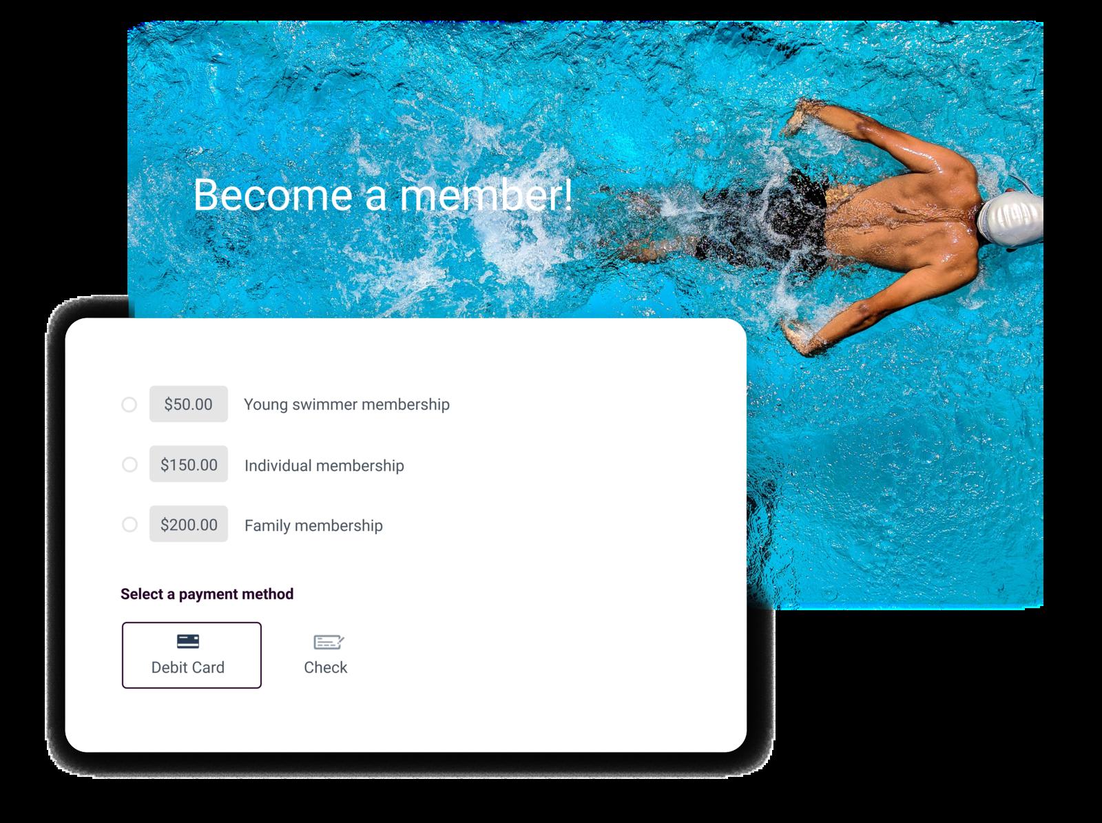 swim club management software summary